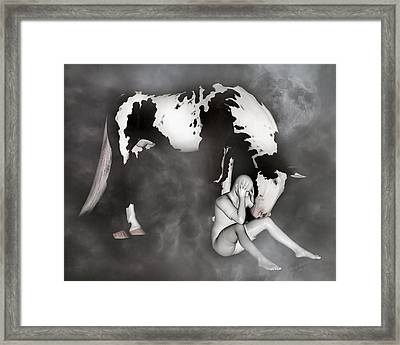 Comfort Framed Print by Betsy Knapp