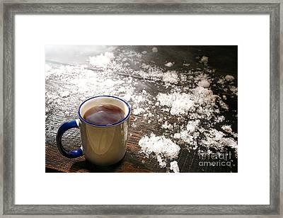 Comfort Framed Print by Olivier Le Queinec