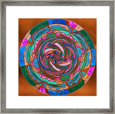 Comfort Framed Print by Teal Eye  Print Store