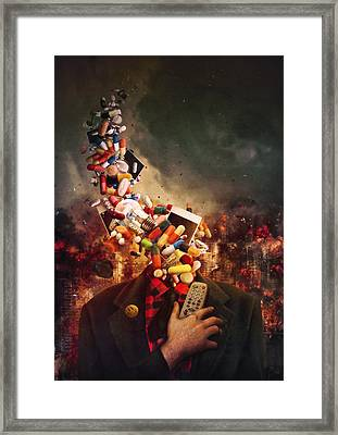 Comfortably Numb Framed Print by Mario Sanchez Nevado