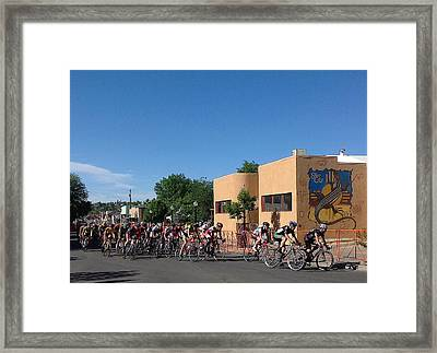 Comin' Round The Bend Framed Print by Feva  Fotos