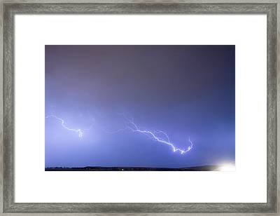 Coming In For A Landing Framed Print by James BO  Insogna