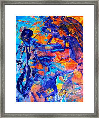 Commisceration For Anne-elizabeth Whitelaw Framed Print by Bruce Combs - REACH BEYOND