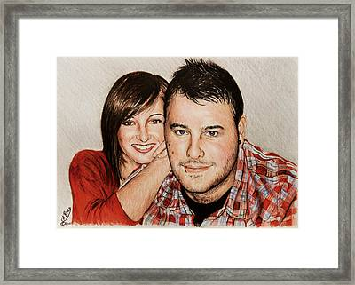 Commissions Framed Print by Andrew Read
