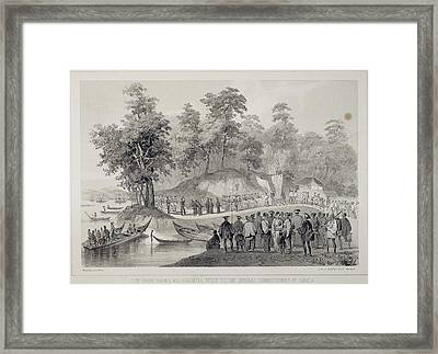 Commodore Matthew Perry (1794-1858) Framed Print by Granger