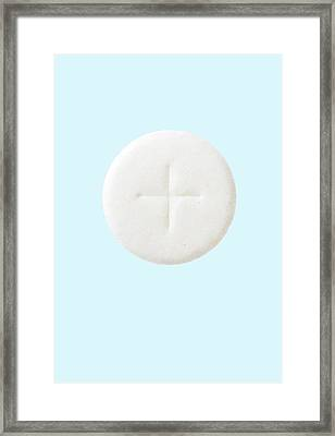Communion Wafer Framed Print by Cordelia Molloy