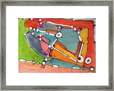 Commuting To See You  For Mary Beth Framed Print by Hari Thomas