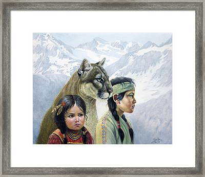 Companions Framed Print by Gregory Perillo