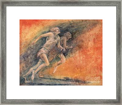 Competition Framed Print by Larry  Daeumler