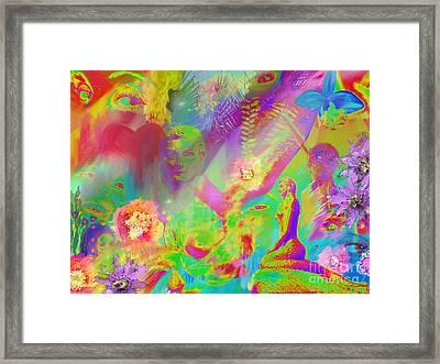 Complete Lovely Mayhem Framed Print by Michelle Wiarda