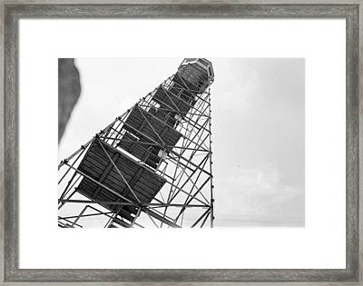 Completed Air Traffic Control Tower Framed Print by Kevin Murphy