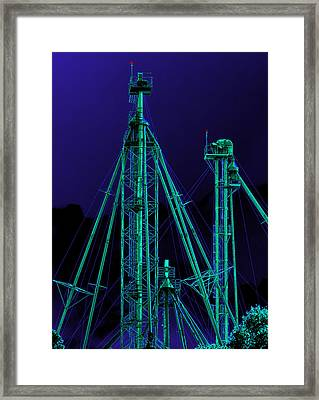 Complex Glow Framed Print by Wendy J St Christopher