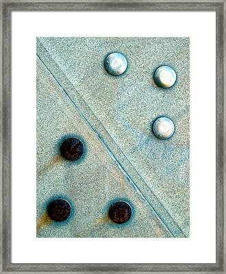 Compose Framed Print by Tom Druin