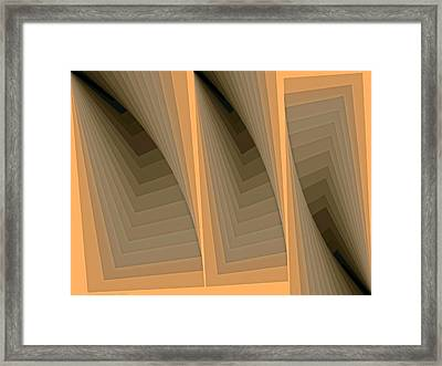 Composition 137 Framed Print by Terry Reynoldson