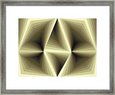 Composition 192 Framed Print by Terry Reynoldson