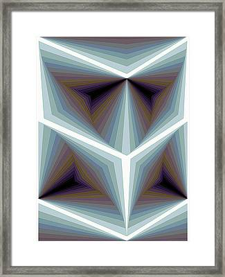 Composition 195 Framed Print by Terry Reynoldson