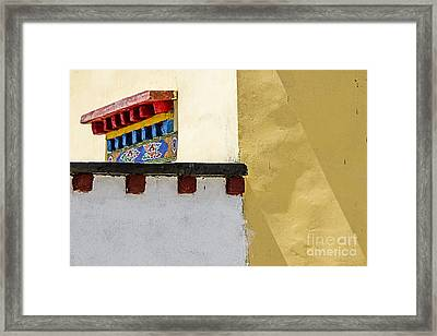 Composition 2 Framed Print by Hitendra SINKAR