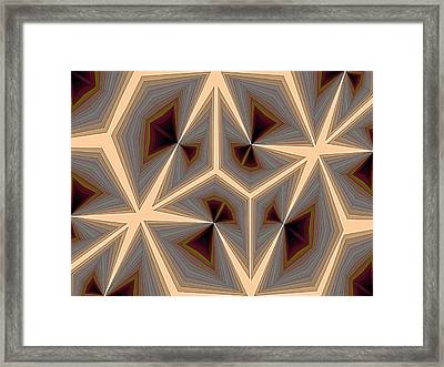Composition 234 Framed Print by Terry Reynoldson