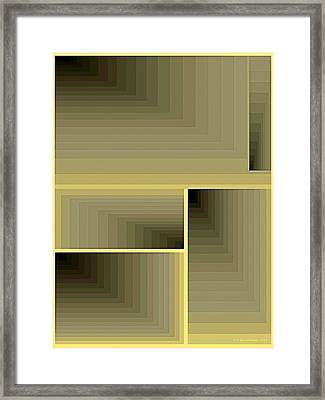 Composition 70 Framed Print by Terry Reynoldson