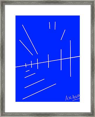 Composition-p2 Framed Print by Anand Swaroop Manchiraju