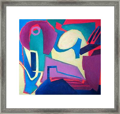 Compostion In See Framed Print by Diane Fine