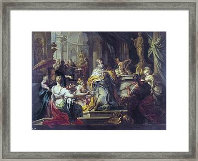 Conca, Sebastiano 1680-1764. The Framed Print by Everett