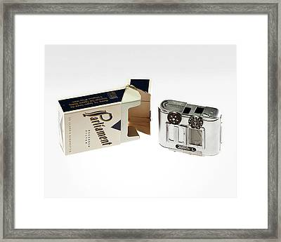 Concealed Camera Framed Print by Central Intelligence Agency