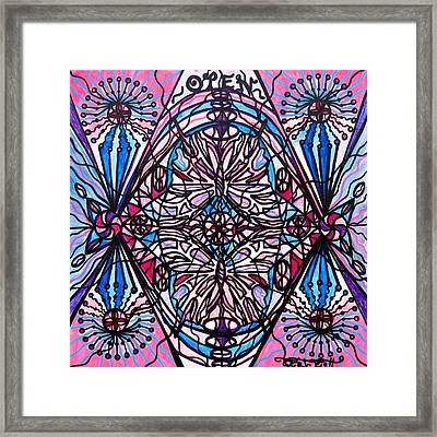 Conceive Framed Print by Teal Eye  Print Store