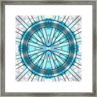 Concentric Eccentric 3 Framed Print by Brian Johnson