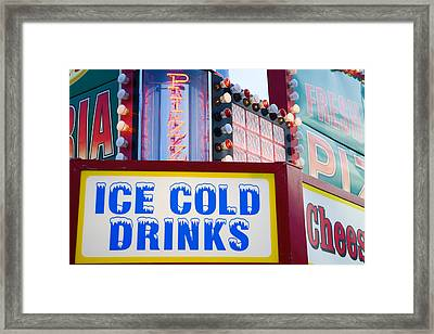 Concession Stand Framed Print by Alexey Stiop