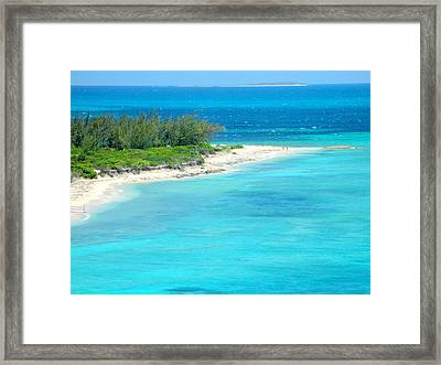 Conch Cape Framed Print by Randall Weidner
