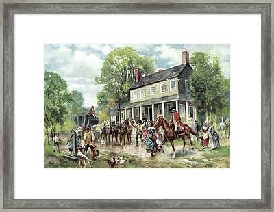 Concord, C1775 Framed Print by Granger