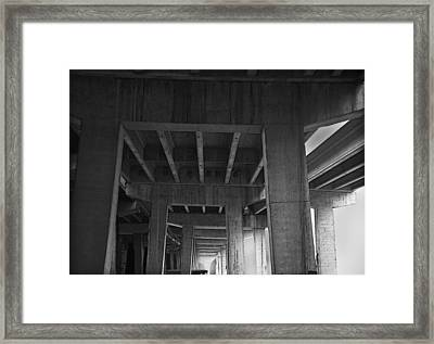 Concrete Cathedral Framed Print by Larry Butterworth