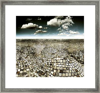 Concrete Mind Framed Print by Florin Birjoveanu
