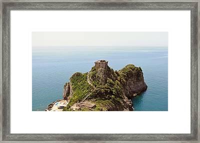 Concu Dei Marini Amalfi Framed Print by Marilyn Dunlap