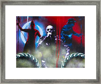 Conditions Of The 10000th Step Framed Print by Bobby Zeik