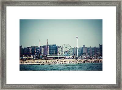 Coney Island Dream Framed Print by Frank Winters