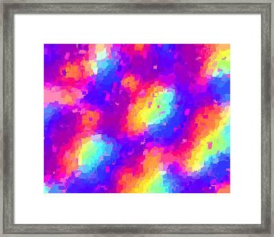 Confetti II Framed Print by L Brown
