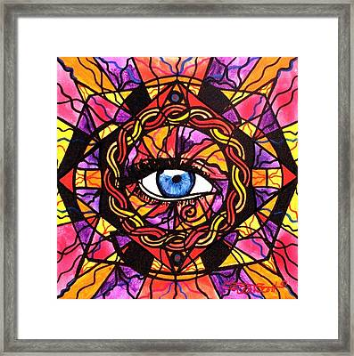 Confident Self Expression Framed Print by Teal Eye  Print Store