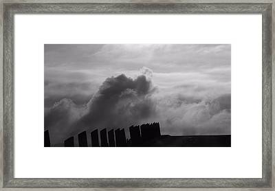 Confrontation Framed Print by Dan Sproul