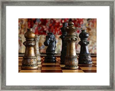 Confrontation Framed Print by Joe Kozlowski