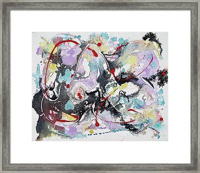 Confused Framed Print by Suzanne  Marie Leclair