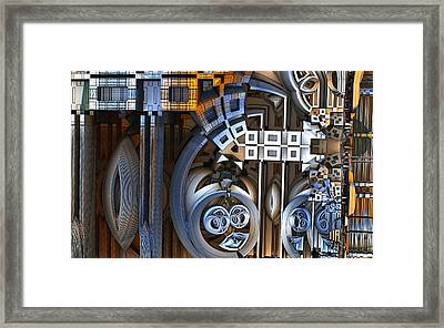 Confused Too Framed Print by Ricky Jarnagin