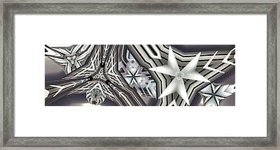 Congruent Framed Print by Ron Bissett