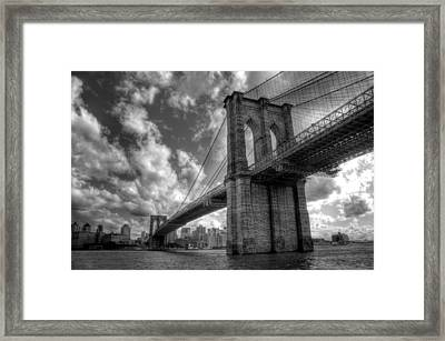 Connect Framed Print by Johnny Lam