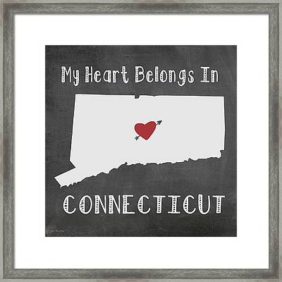 Connecticut Framed Print by Jo Moulton