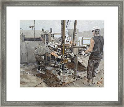 Connection Time Framed Print by Galen Cox