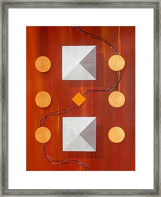 Connections Framed Print by Karyn Robinson