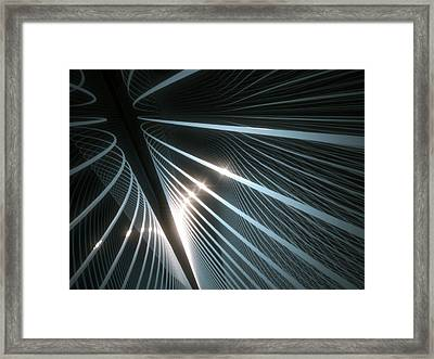 Connections Framed Print by Ktsdesign