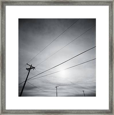 Connections Framed Print by Thomas Shanahan